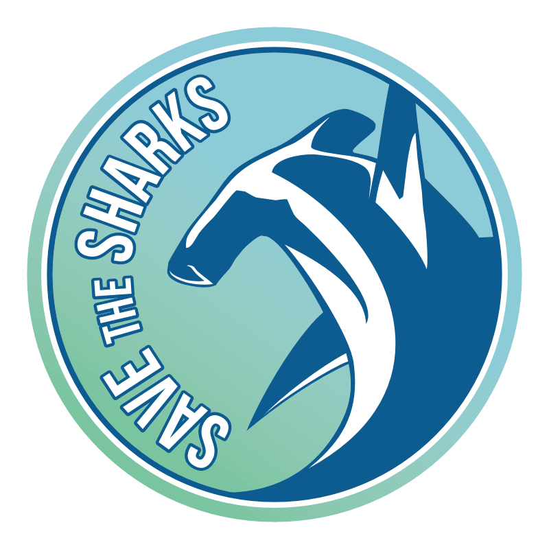 save the sharks logo
